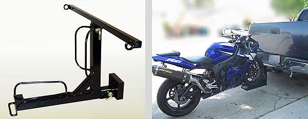 Крепление для перевозки мотоцикла своими руками